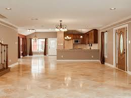 Travertine Kitchen Floor Tiles Travertine Tile Flooring All About Flooring Designs