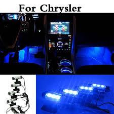 Chrysler 300c Interior Lights Us 10 81 12v Car Interior Decorative Lamp Neon Atmosphere Led Lights For Chrysler 200 300c Srt8 Aspen Crossfire Nassau Pt Cruiser Sebring In Signal