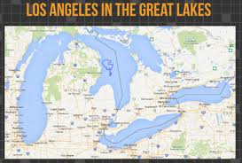 la size so exactly how much bigger is las land area over chicagos over