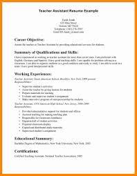 Resume Objective For Teacher 24 Teacher Objectives For Resumes Melvillehighschool 17