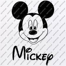 Mickey And Minnie Mouse Svg Files - Svg Original Design - Png Files - –  SOFVINTAJE
