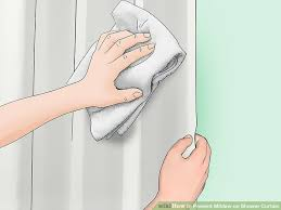 image titled prevent mildew on shower curtain step 5