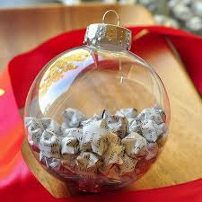Decorating Clear Christmas Balls Cool 32 DIY Crafts Featuring The Simple Christmas Ball Ornament