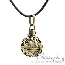 peace sign openwork essential oil jewelry whole diffuser lockets aromatherapy inhaler essential oil necklaces lava volcanic stone metal aromatherapy