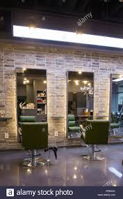 Modern Design Hair Salon Modern Space Interiors Design Stock Photo Living Room