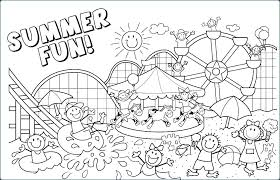 Coloring Pages Online For Toddlers Free And Fun Beach Book Page