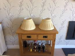 2 laura ashley lamp shades