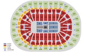 Columbus Civic Center Wwe Seating Chart Bb T Center Sunrise Fl Seating Chart View