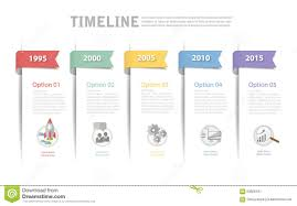 Timeline Template Can Be Used For Workflow Layout Diagram Stock