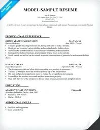 How To Make A Modeling Resume Unique Modeling Resumes for Beginners for Modeling Beginner Resume 26