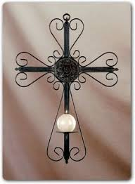 iron wall cross love: crosses crucifixes wall crosscross candle holders for walltable crosses