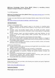 Cover Letter For Hospital Job Fresh Consulting Cover Letters