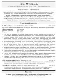 Medical Practice Administrator Sample Resume Adorable Resume Format Medical Transcriptionist