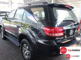 2007 Toyota Fortuner for sale in Malaysia for RM54,850 | MyMotor