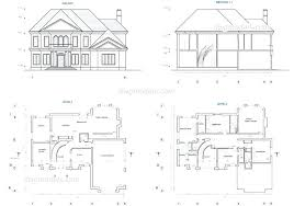 house cad two story house plans cad blocks plan images two c kerala house cad drawings