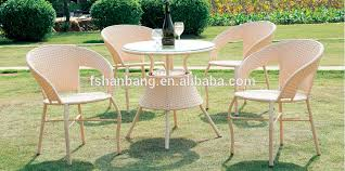 factory outdoor rattan resin wicker patio garden furniture 3 5 pieces table chairs set