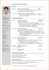 One Page Resume Fascinating One Page Resume format Gulijobs