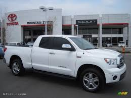 2008 Super White Toyota Tundra Limited Double Cab 4x4 #29004477 ...