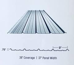 painted white corrugated sheet