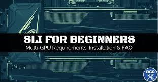 Sli Requirements Compatibility 2019 Build Guide Bgc