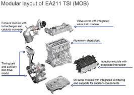 we sample the ea211 volkswagen s next global four cylinder engine volkswagen 1 4 liter ea211 breakdown