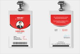 Identification Card Samples Free 35 Amazing Id Card Templates In Illustrator Ms Word