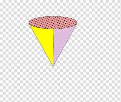 Memphis Made Yellow And Purple Cone Chart Transparent