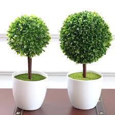artificial potted plants large