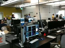 google office desk. Facebook Uses An Open Plan Office, With Not Much Privacy For Employees. It Can Sometimes Be Loud And Distracting. A Small Number Of Employees Choose Shared Google Office Desk Y