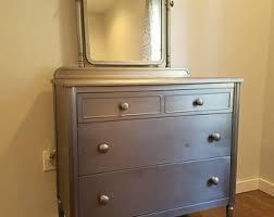 Vintage metal furniture Steel Vintage Metal Dresser Raw Steel Dresser Vintage Simmons Dresser Etsy Metal Furniture Etsy