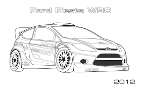 Small Picture Rally Cars Car Coloring Pages