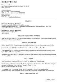 Undergraduate College Resume Template Cv Template Undergraduate Cv Template Student College