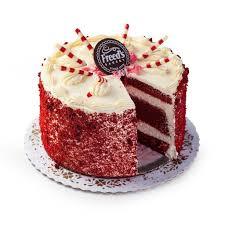 Red Velvet Cake Freeds Bakery