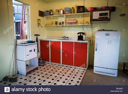 50s Kitchen Kitchen In A Beach House From The Fifties 50s House Or 50s