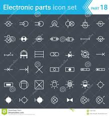 electric and electronic icons electric diagram symbols lighting electric and electronic icons electric diagram symbols lighting