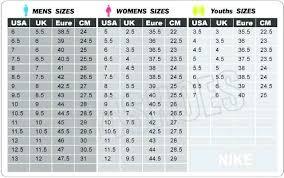 Converse Size Chart Men Converse Shoe Size Chart Www Giallomare Eu