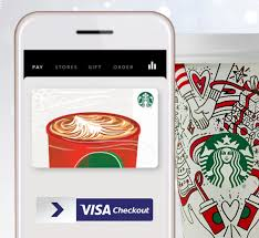 fill up on holiday cheer with a starbucks egift card use visa checkout to a starbucks egift of 10 or more and get an additional 10 egift for free