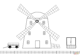 farm windmill drawing. Click The Windmill On A Farm Coloring Pages To View Printable Version Or Color It Online (compatible With IPad And Android Tablets). Drawing R