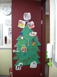 Creative Classroom Decorating Ideas For Elementary School E2 80 94 House  Image Of Christmas Door.