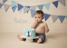 Boy Cake Smash Baby Fiestas De Primer Cumpleaños Fotos De