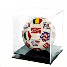 Football Display Stand Plastic Acrylic Display Cases And Display Boxes 92