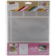 6 Inch Binders Simple Stories Snatp Insta Pocket Pages For 6 By 8 Inch
