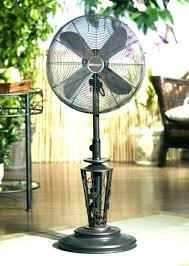 outdoor oscillating pedestal fan quiet fans stand