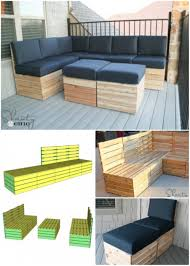 pallet furniture projects. corner lounge suite pallet furniture projects