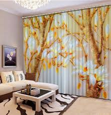 Yellow Curtains For Living Room Popular Magnolia Curtains Buy Cheap Magnolia Curtains Lots From