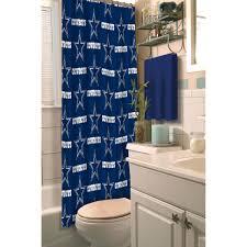 Texas Star Bathroom Accessories Nfl Dallas Cowboys Decorative Bath Collection Shower Curtain