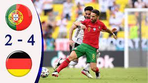 ไฮไลท์ฟุตบอลยูโร 2020 โปรตุเกส 2-4 เยอรมัน - YouTube