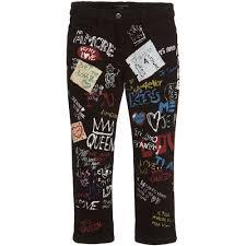 Dolce And Gabbana Jeans Size Chart Dolce Gabbana Girls Regular Graffiti Jeans At