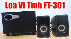 Mở Hộp Reviews Loa Vi Tính FT-301 Mini 2.1 USB Fullbox Super Bass - YouTube