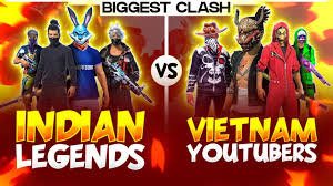 INDIA VS VIETNAM - GARENA FREE FIRE ...